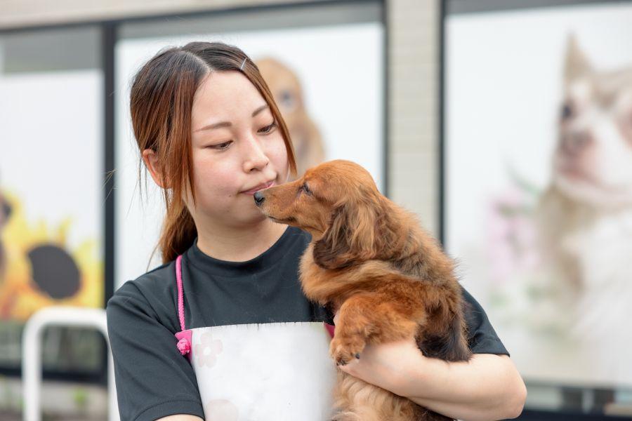 スタッフとワンちゃん_米子店57